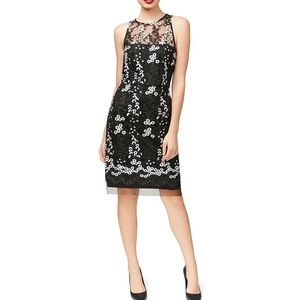Betsey Johnson Lace Embroidered Cocktail Dress